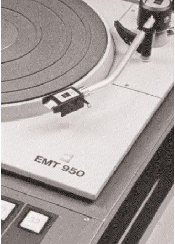 Schallplatten-Wiedergabe-Maschine EMT 950