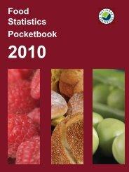 Food Statistics Pocketbook 2010 - ARCHIVE: Defra