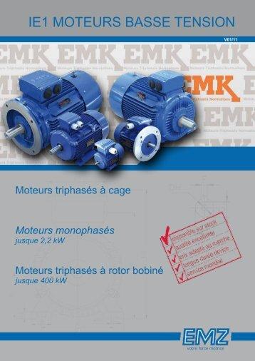 Moteurs à rotor bobiné - bei EMZ