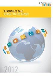 Renewables 2012 Global Status Report - REN21