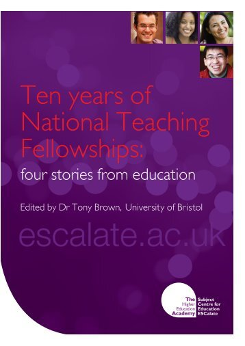 Ten years of National Teaching Fellowships: four stories from ...