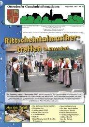September 2005 / Nr. 86 (3,47 MB) - Ottendorf an der Rittschein
