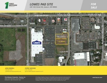 LOWES PAD SITE FOR SALE
