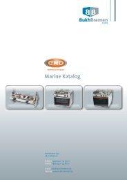 Marine Katalog -  BUKH Bremen