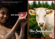 Bio-Jungrindfleisch - AMA-Marketing