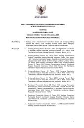 PMK No. 340 - Komisi Akreditasi Rumah Sakit