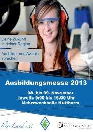 Ausbildungsmesse 2013 - Ilzer Land