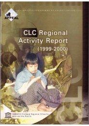 CLC Regional Activity Report - UNESCO Islamabad