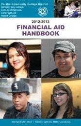 Financial Aid Handbook 2012-2013 - Peralta Colleges