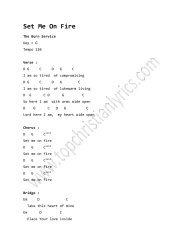 Rain Down chords – Delirious? - Top Christian Lyrics
