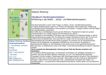 Wottreng_Handbuch Handlungskompetenz