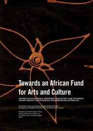 Towards an African Fund for Arts and Culture - Arterial Network