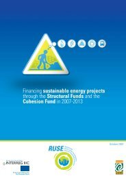 Financing sustainable energy projects through the Structural Funds ...