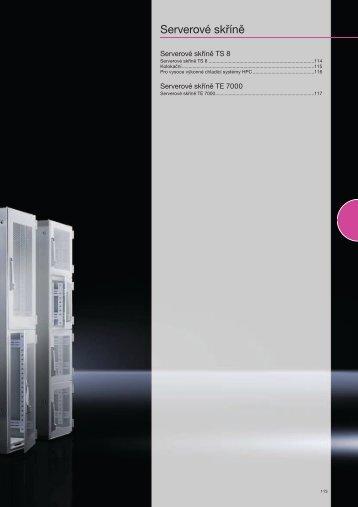 Serverové skříně - Rittal