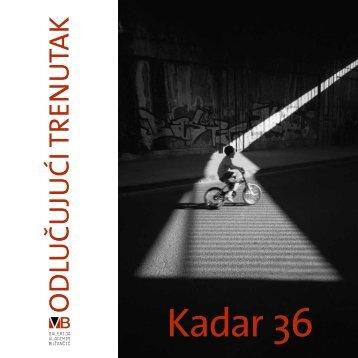 Kadar 36 - Centar za kulturu Novi Zagreb
