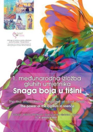 Udruga za kulturu osoba oπteĘena sluha Hrvatske ... - Culturenet