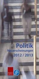 Neuerscheinungen 2012-2013