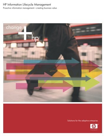 HP Information Lifecycle Management - Hewlett-Packard