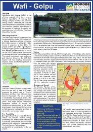 Wafi - Golpu - Morobe Mining Joint Venture