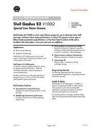 Shell Gadus S2 V100Q - Schmierstoff-Datenbank