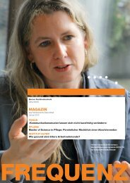 Heft als PDF herunterladen - Gesundheit - Berner Fachhochschule