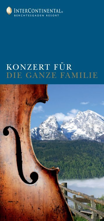 KONZERT FÜR DIE GANZE FAMILIE