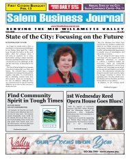 State of the City: Focusing on the Future - Salem Business Journal