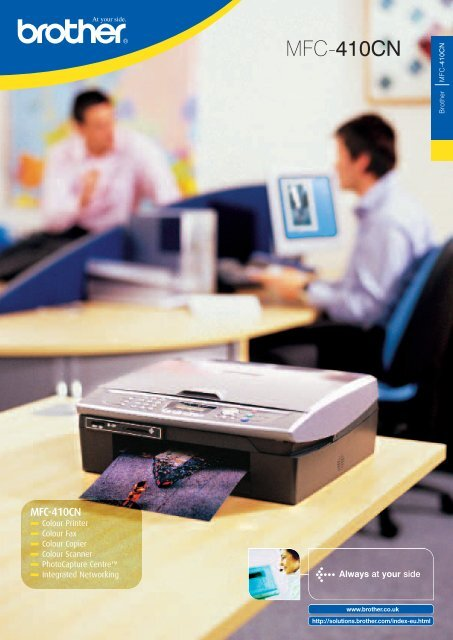 BROTHER MFC 410CN PRINTER DRIVERS PC