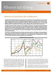 RÃ¥varor och energi - Swedbank