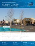 Aurora Center Aurora Center - Page 5