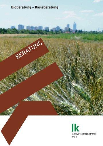 Bioberatung – Basisberatung - Landwirtschaftskammer Wien