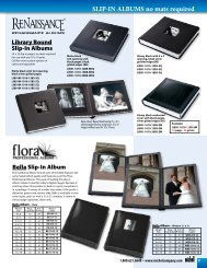 SLIP-IN ALBUMS no mats required - Michel Company