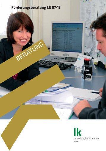 LK Beratung Förderungsberatung - Landwirtschaftskammer Wien