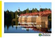 Socialtjänsten - Skellefteå kommun