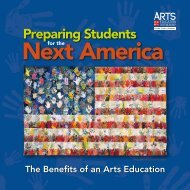 Preparing Students for the Next America: The Benefits of an Arts ...
