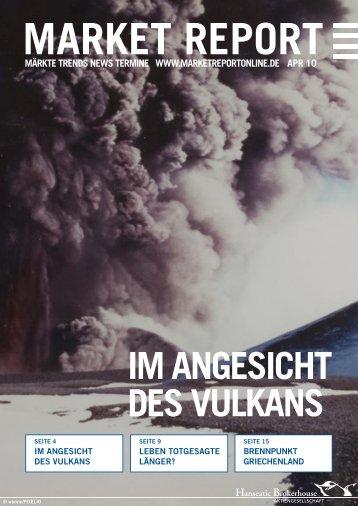 IM ANGESICHT DES VULKANS - Hanseatic Brokerhouse
