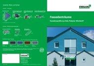 Fassadenträume Fassadenprofile aus Holz ... - EMSLAND-PANEELE