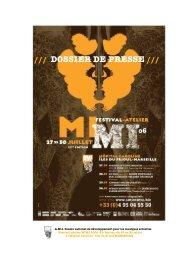 dossier de pressse MIMI 06 - AMI