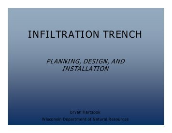 INFILTRATION TRENCH - Waukesha County