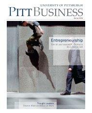 Entrepreneurship - Pitt Business - University of Pittsburgh