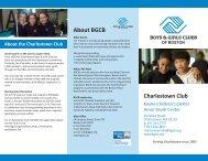 About BGCB - Boys and Girls Club of Boston