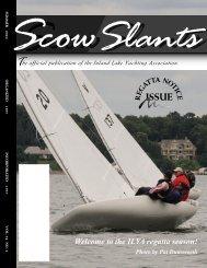 the ILYA regatta season! - Inland Lake Yachting Association