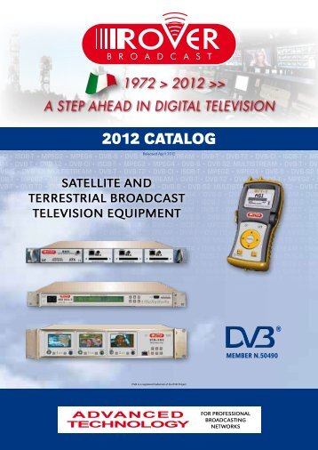 2012 CATALOG - Ro.Ve.R. Laboratories S.p.A.