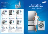 Washing Machines - Samsung