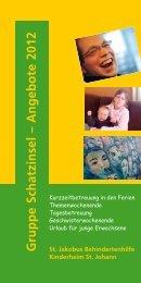 A ng eb o te 2012 - St. Jakobus Behindertenhilfe