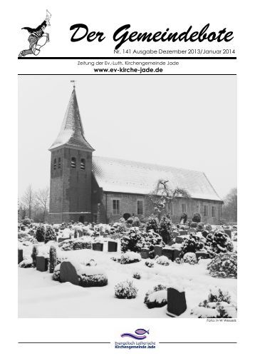 Gemeindebote Nr. 141 Dez 2013 Jan 2014.pdf - Evangelisch ...