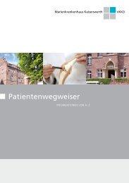 Patientenwegweiser - Verbund Katholischer Kliniken Düsseldorf