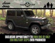 Oscar Mike Special Edition Jeep Wrangler PDF - Encs.com