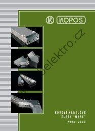 Katalog kabelových žlabů - B + B Elektro