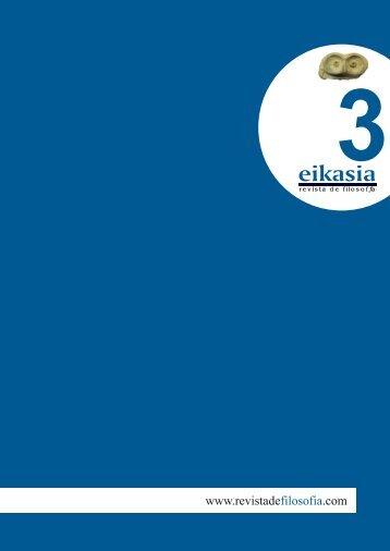 Descargar número completo (6,9 MB) - Eikasia